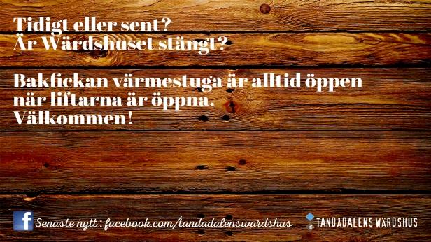 Tandådalens Wärdshus, afterski, Mio Express, ny lift, TD Lounge, Jonas i Sälen, Lindalen