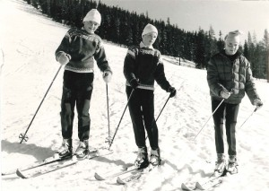 Tandådalen, Tandådalens Wärdshus, Squaw Valley, 1963, genuin after ski