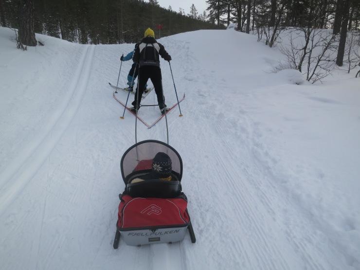 Kalven runt, Lindalens Fäbod, cross country, skidspår, skidor, skidor i Tandådalen, Sälen