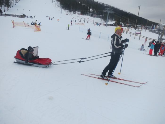 Tandådalen, Tandådalens Wärdshus, afterski, Kalven runt, längd, skidspår, åka skidor, Caravan Club