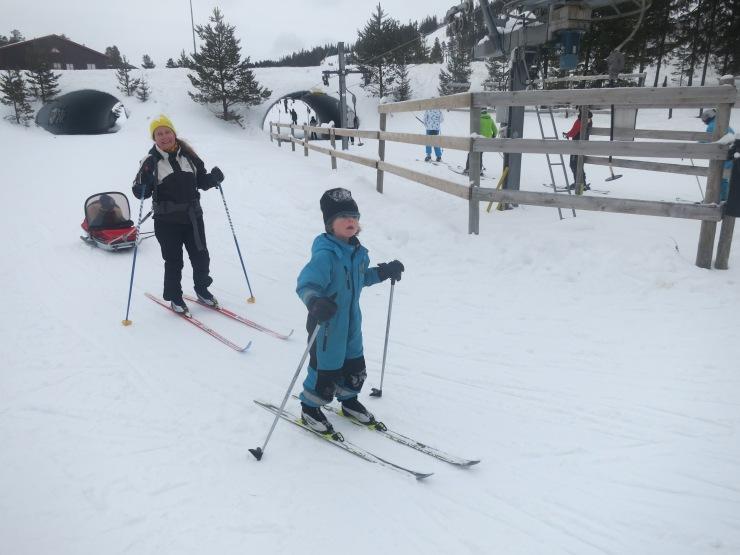 Kalven runt, Tandådalen, elljusspår, förbindelselift, skidspår, skidor i Sälen