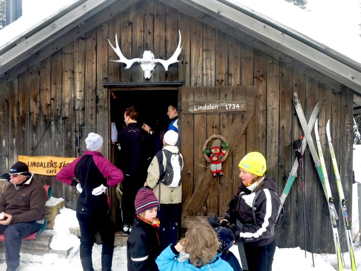 Lindalens Fäbod, Kalven runt, Lindalen, längd, skidspår, cross country skiing, Jonas i Sälen