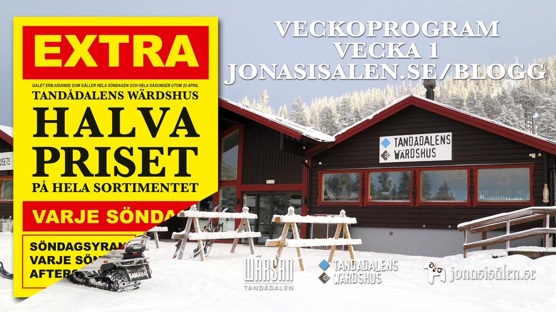 half price sundays, happy new year, après ski, afterski, tandådalen, tandådalens wärdshus, partypatrullen, live music, new year, new years eve party, snow