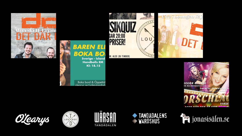 après ski, tandådalens wärdshus, td lounge, music quiz, pub quiz, nightclub, nightclub sälen, Wärsan, Storschlaget, live music