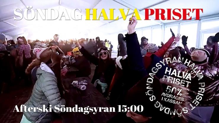 half price, half price sunday, Sunday, Tandådalens Wärdshus, Jonas i Sälen, Tandådalen, après ski, Sälen
